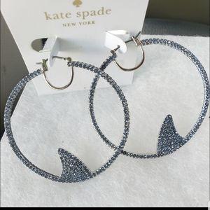 Kate spade shark earrings